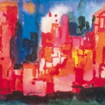 "Jerry Garcia, ""New York at night"", Courtesy of the Garcia Weir Gallery"